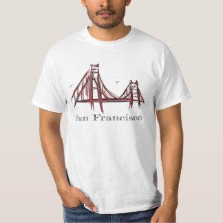 San Francisco Golden Gate Bridge Tshirts