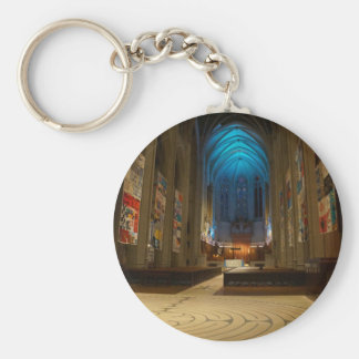 San Francisco Grace Cathedral #2 Keychain