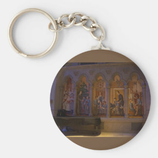 San Francisco Grace Cathedral #5 Keychain