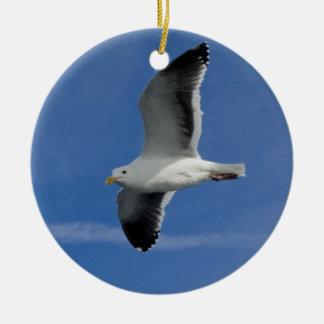 San Francisco Gull Christmas Ornament