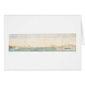 San Francisco harbor, California (1244) Card