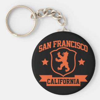 San Francisco Heraldry Basic Round Button Key Ring