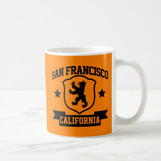 San Francisco Heraldry Basic White Mug
