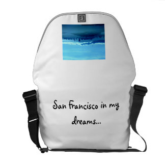 San Francisco In My Dreams Tote Bag Courier Bags
