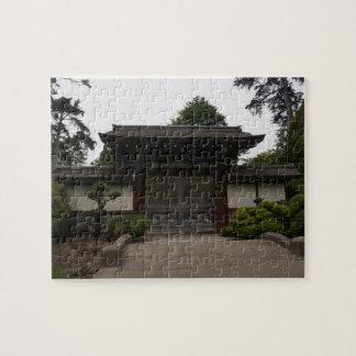 San Francisco Japanese Tea Garden #4 Jigsaw Puzzle