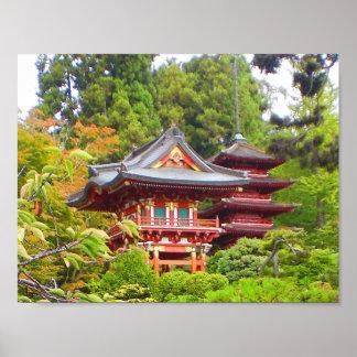 San Francisco Japanese Tea Garden #7 Poster