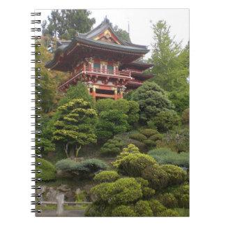 San Francisco Japanese Tea Garden Notebook