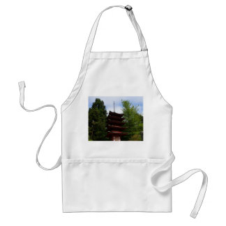 San Francisco Japanese Tea Garden Pagoda Apron
