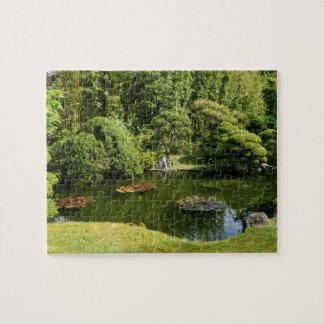 San Francisco Japanese Tea Garden Pond #3 Puzzle