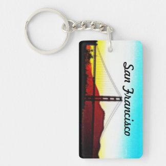 San Francisco Key Chain  - Golden Gate Bridge