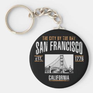 San Francisco Key Ring