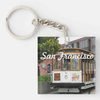 San Francisco Square Acrylic Keychains
