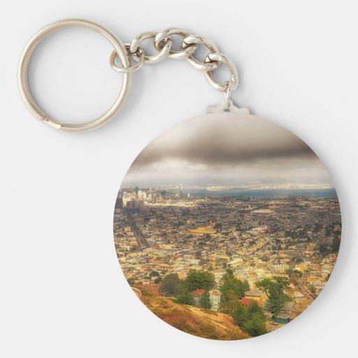 San Francisco Key Chain
