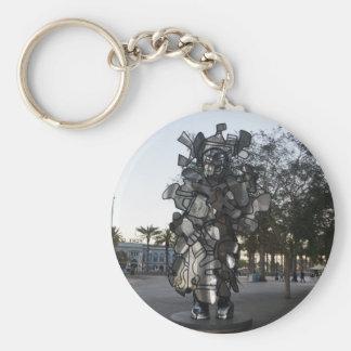 San Francisco LaChiffonniere Sculpture #2 Keychain