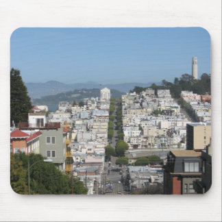 San Francisco Lombard Street Mouse Pad