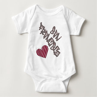 San Francisco Love Baby Bodysuit