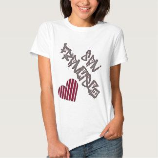 San Francisco Love T Shirts