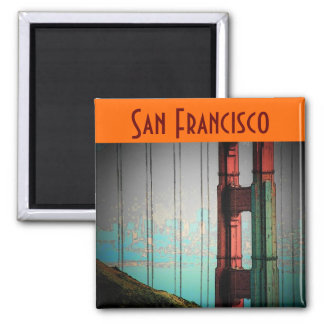 San Francisco Magnet - Customized