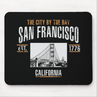 San Francisco Mouse Mat