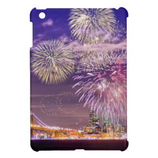 San Francisco New Year Fireworks Cover For The iPad Mini