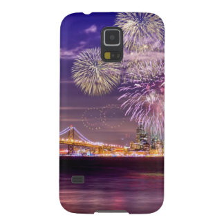 San Francisco New Year Fireworks Galaxy S5 Cover