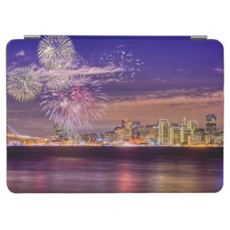San Francisco New Year Fireworks iPad Air Cover