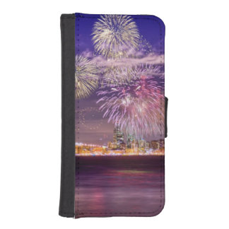 San Francisco New Year Fireworks iPhone SE/5/5s Wallet Case