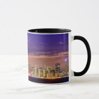San Francisco New Year Fireworks Mug