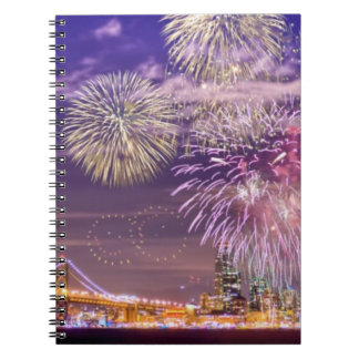 San Francisco New Year Fireworks Notebook