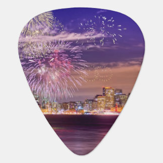 San Francisco New Year Fireworks Plectrum
