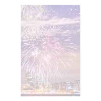 San Francisco New Year Fireworks Stationery