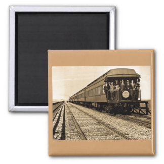 San Francisco Overland Limited Southern Pacific RR Square Magnet