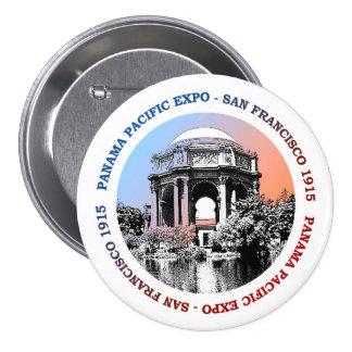 San Francisco Panama Pacific Expo 7.5 Cm Round Badge