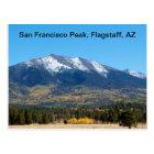 San Francisco Peak in the Fall Postcard