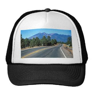 San Francisco peaks, flagstaff rebuilt, highway 66 Hats