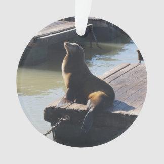 San Francisco Pier 39 Sea Lion #2 Ornament