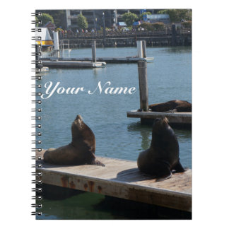 San Francisco Pier 39 Sea Lions #3 Notebook