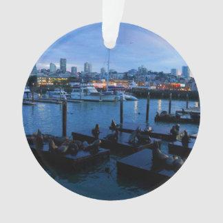 San Francisco Pier 39 Sea Lions #7 Ornament