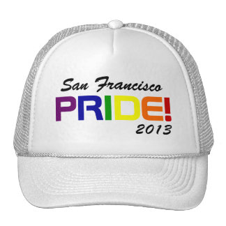 San Francisco Pride 2013 Mesh Hat