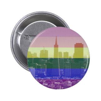 San Francisco Pride 6 Cm Round Badge