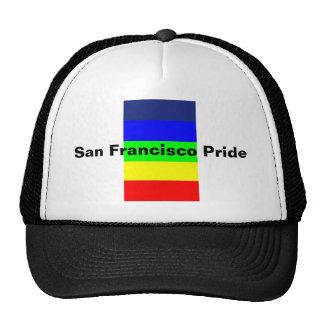 San Francisco Pride Mesh Hats