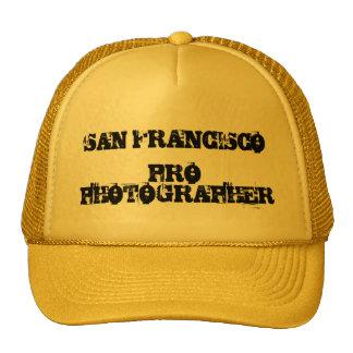 SAN FRANCISCO PRO PHOTOGRAPHER Hat