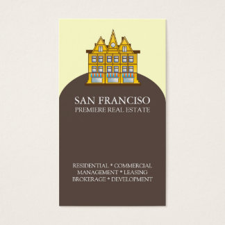 San Francisco Real Estate Business Card Template