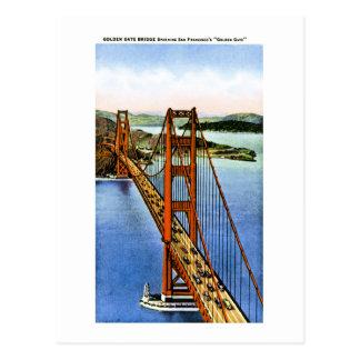 San Francisco s Golden Gate Bridge Post Card
