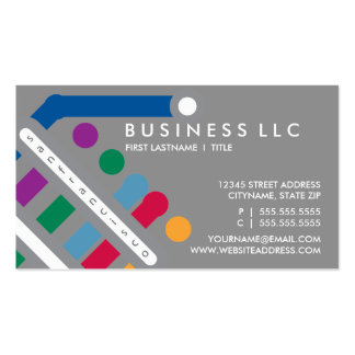 san francisco scene Double-Sided standard business cards (Pack of 100)
