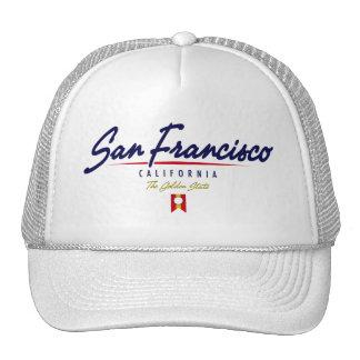 San Francisco Script Cap