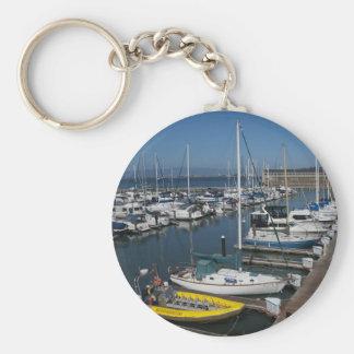 San Francisco Ships Keychain