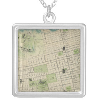 San Francisco Silver Plated Necklace