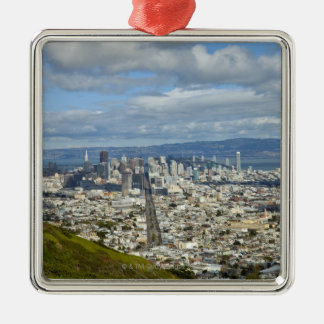 San Francisco skyline Christmas Ornament
