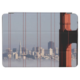 San Francisco Skyline from Golden Gate Bridge. iPad Air Cover